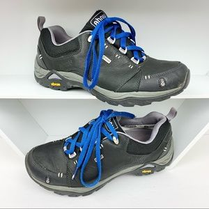 Ahnu Montara Leather Hiking Trail Sneaker Vibram